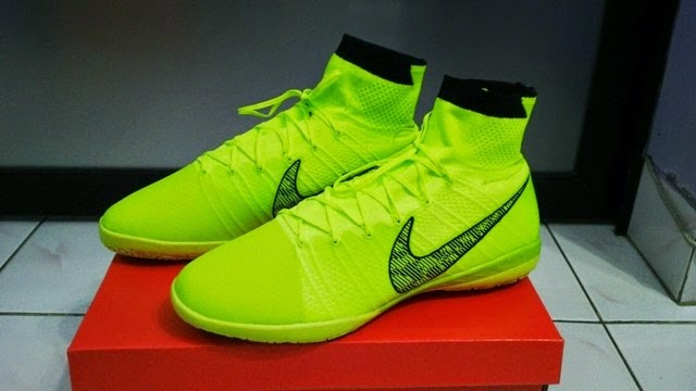 Jual Sepatu Futsal Nike Elastico Superfly Hijau - Bobos