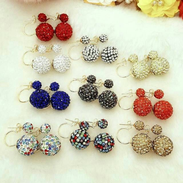 harga Anting fashion swarovski tauge Tokopedia.com