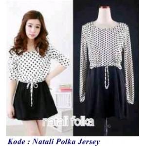 Jual Mini dress jersey trendy   supplier baju online murah   Natali ... c40de50667