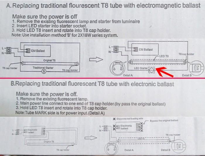 jual lampu led tube lamp 9 watt pengganti neon tl panjang opple t8 rh tokopedia com Basement Pada Lampu TL Lampu HID Projector