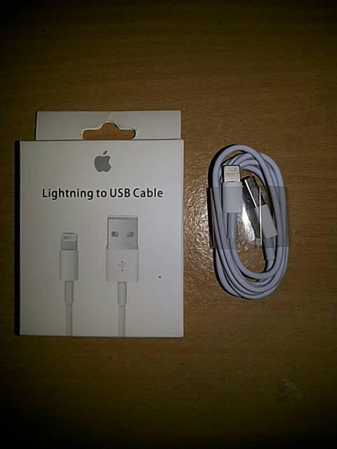 harga Kabel data iphone 5s / 5g / ipad mini ( kabel data iphone 5 ) Tokopedia.com