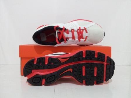 Jual Obral Sepatu Running Nike Downshifter 5 MSL Putih Merah 538258 ... 447b3ddef4