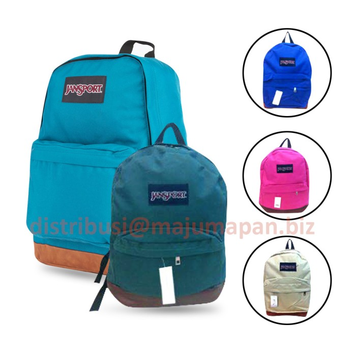 [ JANSPORT ] Tas Ransel Jansport polos - ada tempat notebook / laptop