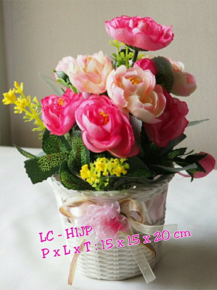 Jual Bunga sintetis type Jessica pink - Lucca Collection  a464c393c4