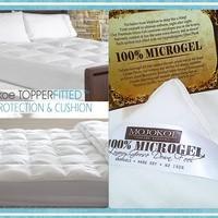 Jual Hotel Bed Mattress Matras Topperfitted Size Ex Single 100 Microgel Jakarta Pusat Mojokoe Bedding Tokopedia