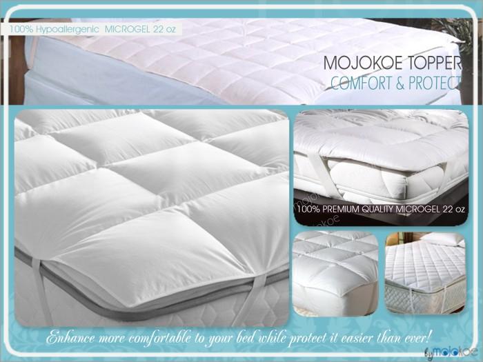 Jual Hotel Bed Mattress Matras Topper Cover Size Single 100 Microgel Jakarta Pusat Mojokoe Bedding Tokopedia