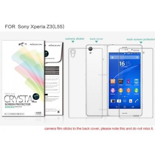 harga Nillkin sony xperia z3 clear screen protector Tokopedia.com