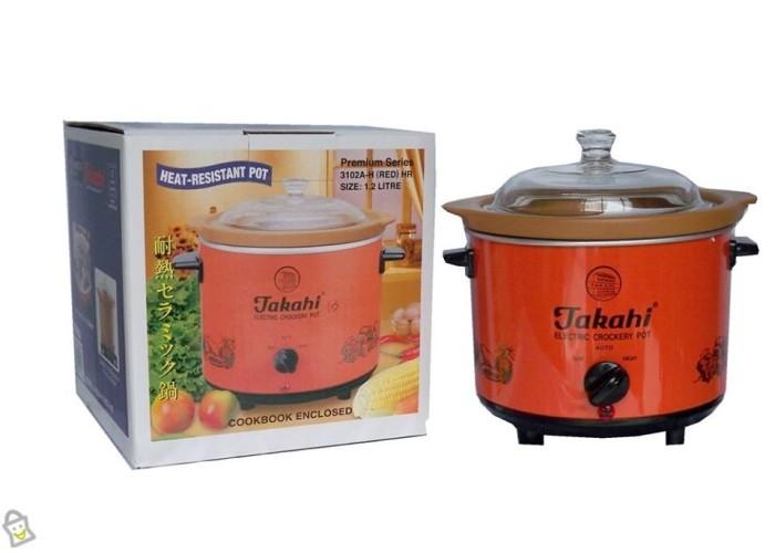 Takahi Slow Cooker 1.2 L