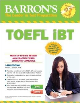 harga Barrons toefl ibt with answer key and cd audio 14th edition Tokopedia.com