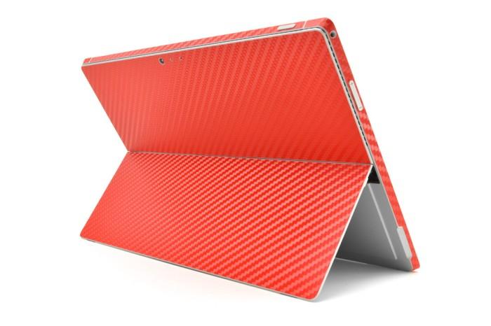 harga 3m microsoft surface pro 3 red carbon skin Tokopedia.com