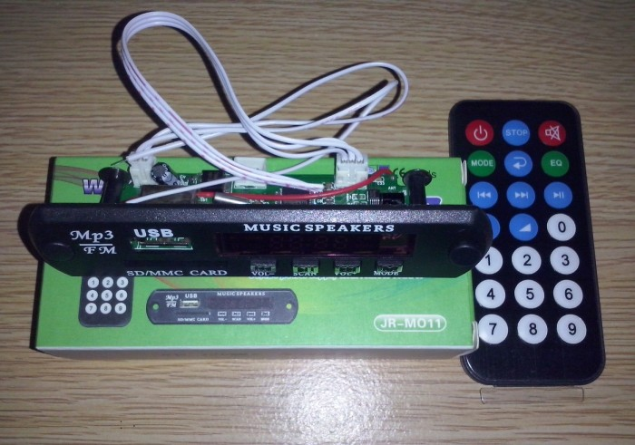 harga Modul kit digital player mp3 support sd/mmc/usb stereo fm radio Tokopedia.com