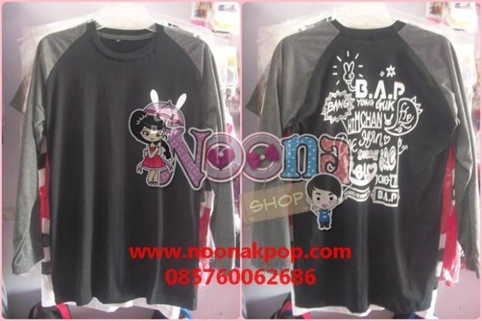 Foto Produk Kaos Raglan KPOP BAP 2nd Baby Day (Lengan Panjang) dari Noona Kpop
