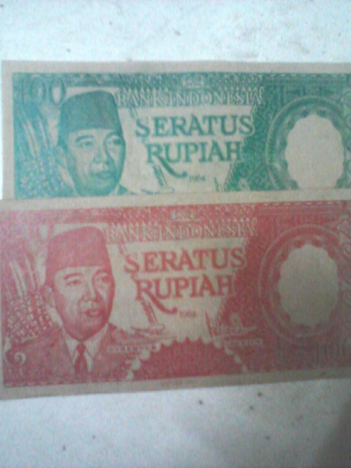 harga UANG SOEKARNO TAHUN 1964 Tokopedia.com
