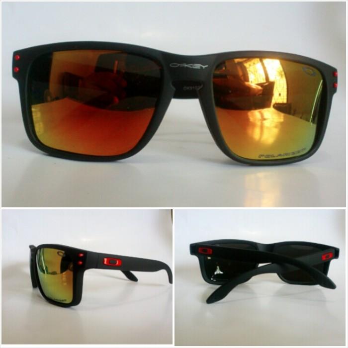 d4e5130e125 Jual Kacamata Sunglasses Oakley Holbrook Fire Lens - Gio Estilo ...