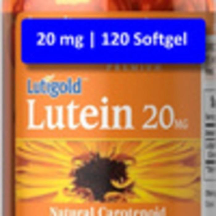 Lutein 20 mg w/ Zeaxanthin  120 Softgel -- Puritan's Pride
