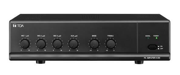 Toa mixer amplifier type: za-230w