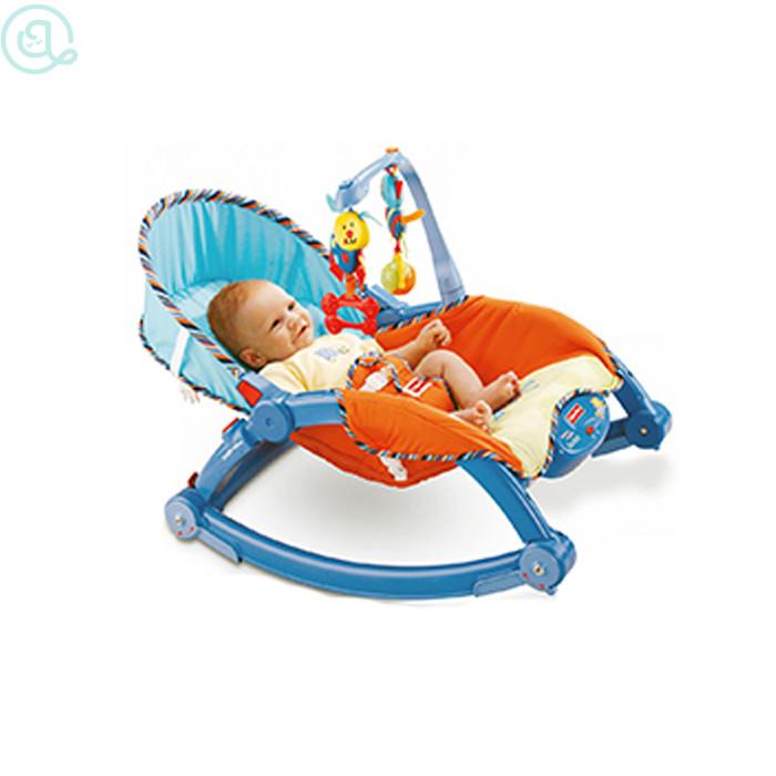 harga Fisherprice toddler rocker biru/bouncer musik bayi/kursi goyang anak Tokopedia.com