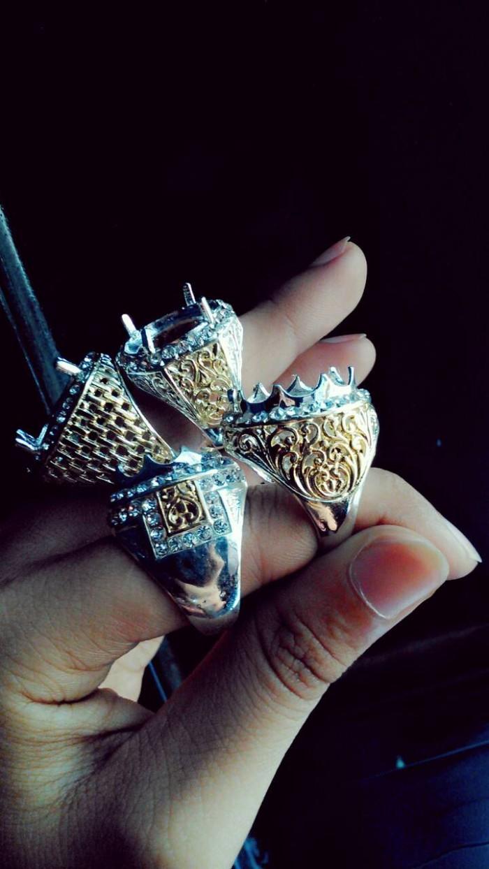 harga Emban cincin alpaka kombinasi zircon Tokopedia.com