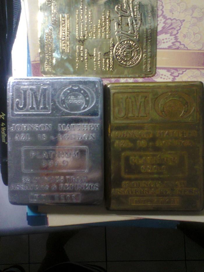Jual Platinum Jm 9999 32 Ounces Troy Top Baselayer Tokopedia