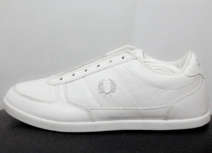 Jual Sepatu Fred Perry Classic 52 Shoes White Original Indonesia
