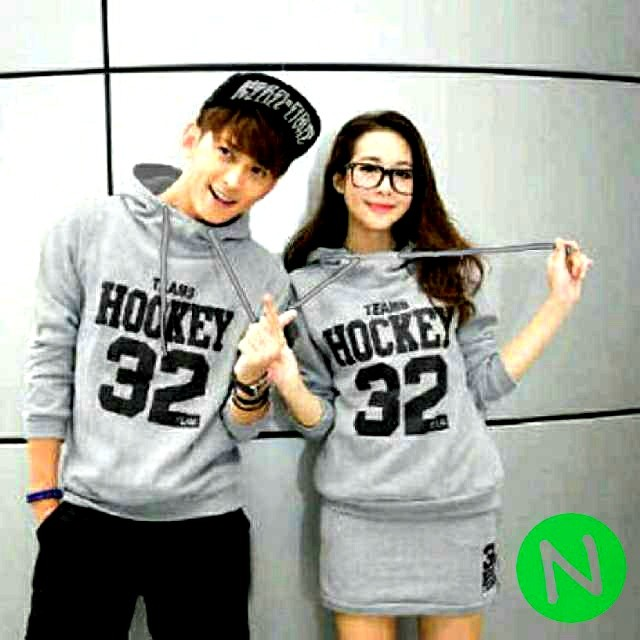 harga Jaket couple hockey abu Tokopedia.com