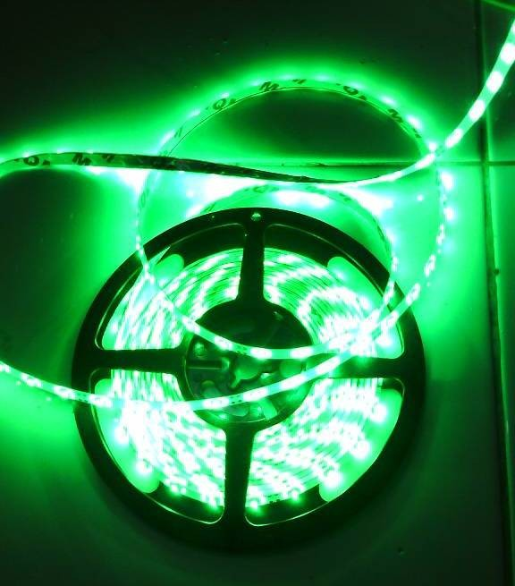 Jual Lampu LED Strip SMD 3528 HIJAU/ Green 5M Flexible