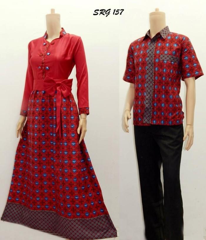 Model Baju Batik Gamis Couple Style Gamis