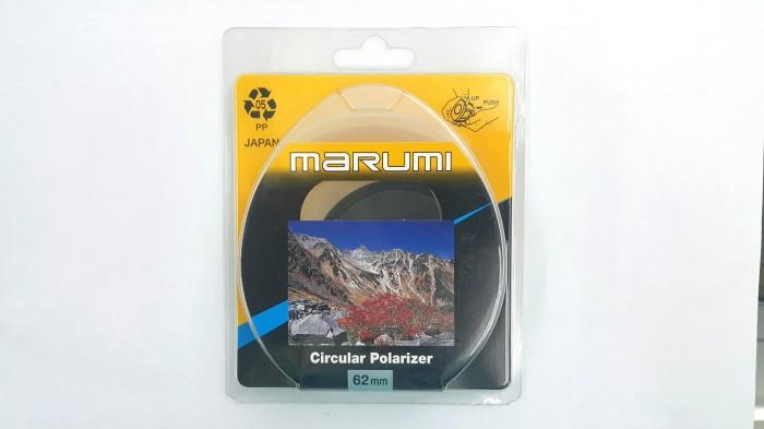 harga Marumi circular polarizer / cpl filter 62mm original jepang Tokopedia.com