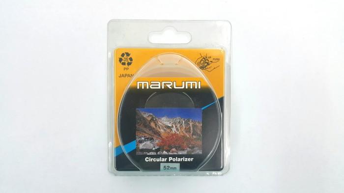 harga Marumi circular polarizer / cpl filter 52mm original jepang Tokopedia.com