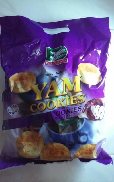 harga Ever delicious yam cookies taro cookies biskuit keladi rasa talas Tokopedia.com