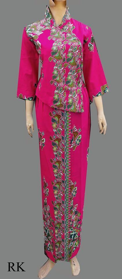 Jual Model Baju Batik Pramugari  Batik Dress Batik Rok