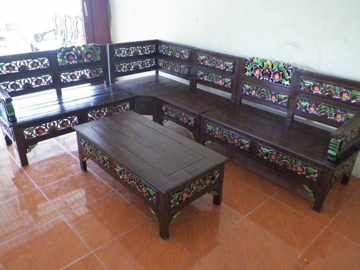 Jual Meja Lenong Jati Kota Pekanbaru Agung Furniture Tokopedia
