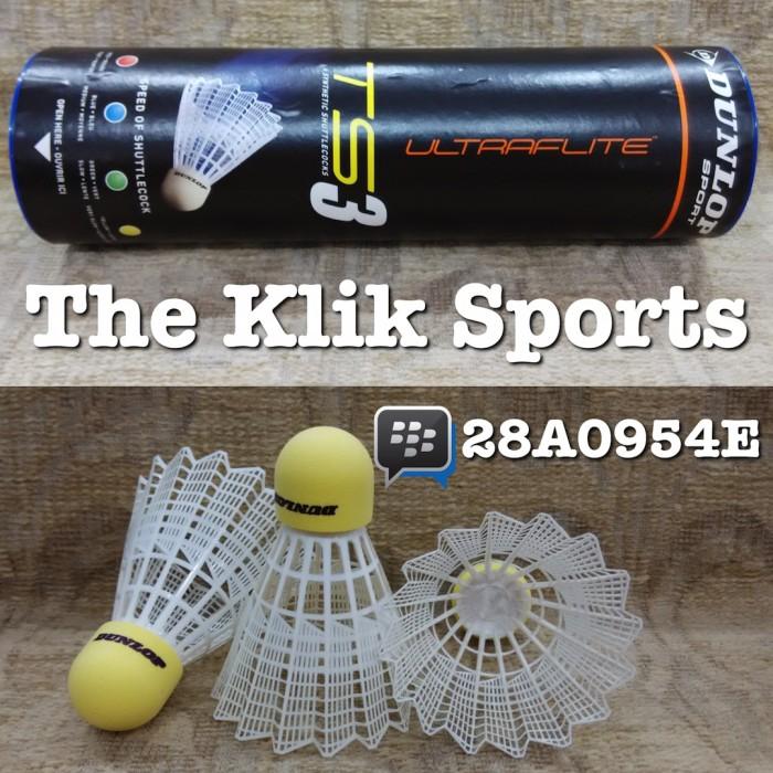 harga Dunlop nylon shuttlecock ts3 ( bola bulutangkis plastik ) Tokopedia.com