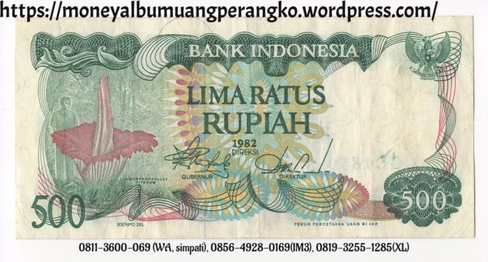 Jual Uang 500 Rupiah Uang 500 Kertas Uang Rp 500 Kuno Lama Tahun