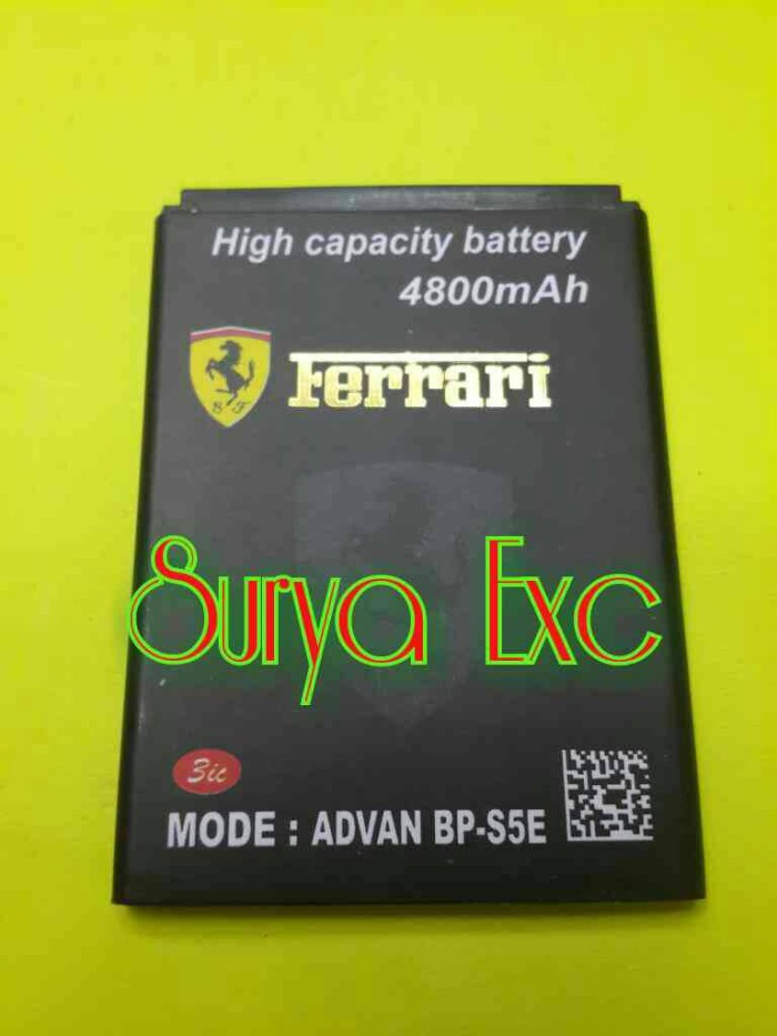 Baterai battery advan bp-s5e s5e s5e pro double power 4800mah