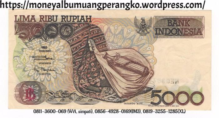 Uang 5000 Rupiah Kertas 085649280169