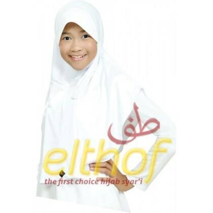 Jual Kerudung Jilbab Bergo Sekolah Anak Amira Elthof Cek Harga Di