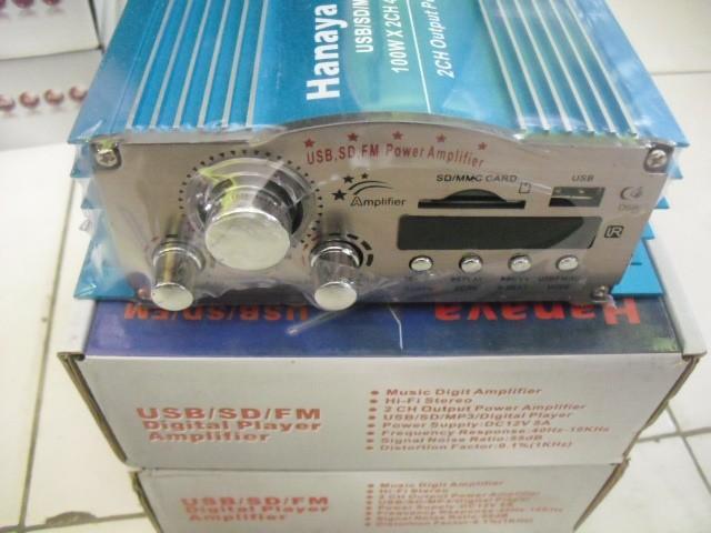 harga Power ampli mobil usb mp3, input, output, radio hanaya ma-301 Tokopedia.com