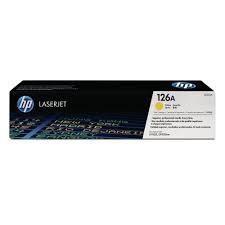 harga Hp color laserjet toner cartridge ce 312a yellow (126a) Tokopedia.com
