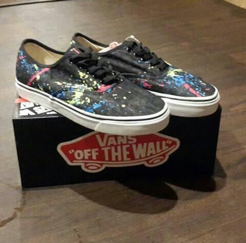 Jual ORI sepatu vans authentic motif series 5 - Gudang Barang ... 270dd70732