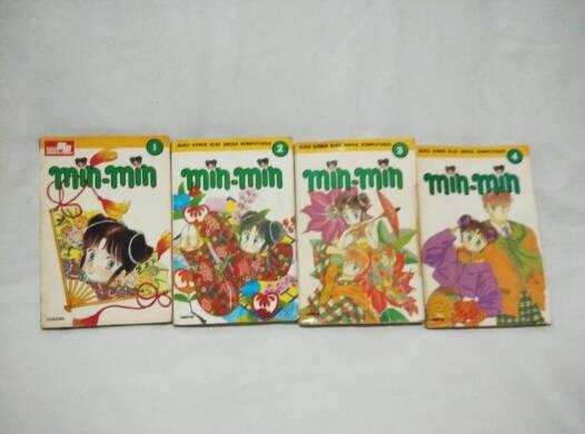 Jual Komik Min Min   1-4 Tamat   Yu Asagiri Manga   Elex Media Kompuntindo   Super Mulus Kualitas   Koleksi Pribadi - Kab  Tangerang - Om Botak |