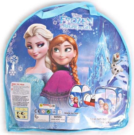 Tenda terowongan anak karakter frozen