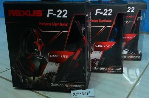 Jual Headset Rexus F22 Gaming Pro