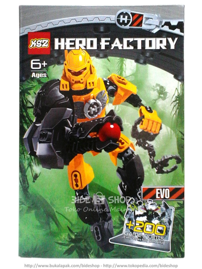 Jual Lego Ksz Hero Factory Evo 6004 Kab Bogor Bide Shop Tokopedia