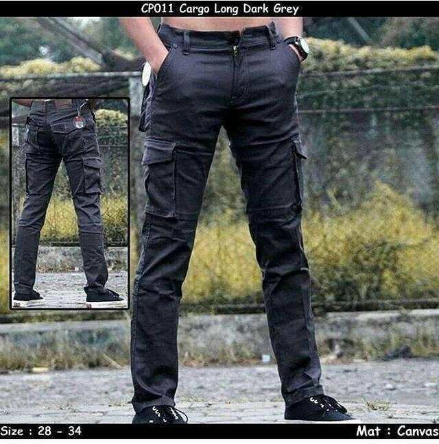 harga Celana cargo panjang grey / celana panjang pdl abu / celana gunung Tokopedia.com