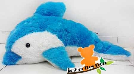 harga Boneka dolphin jumbo biru Tokopedia.com