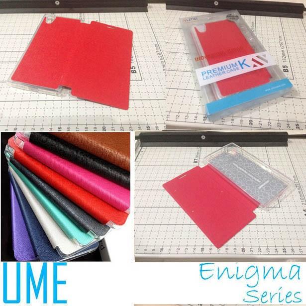 Flip cover leather ume enigma folio case lenovo p70
