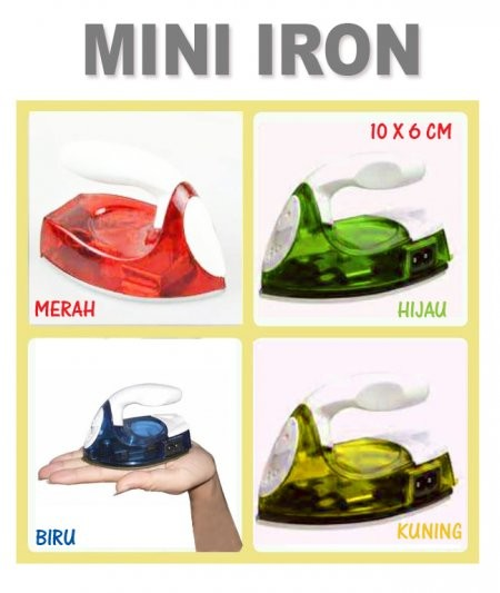 harga Setrika mini (iron travel mini) / gosokan baju Tokopedia.com