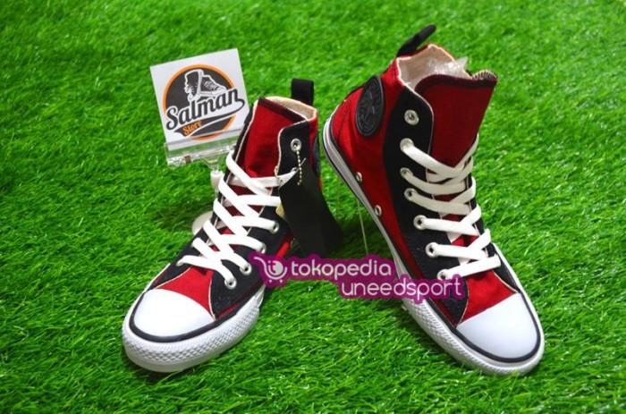 harga Sepatu converse all star maroon eyelete hi Tokopedia.com