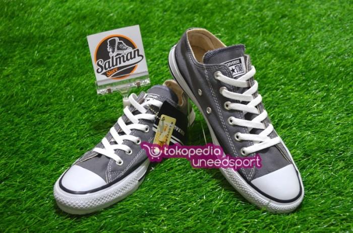 Jual Sepatu Converse ALL STAR Low Abu Abu - Uneedsport  4e5e239cfe